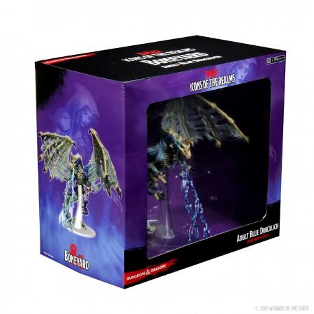 D&D Icons of the Realms Miniatures: Boneyard Premium Set - Blue Dracolich