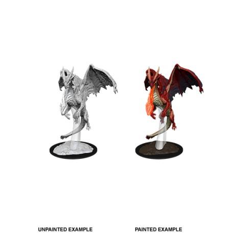 D&D Nolzur´s Miniatures Young Red Dragon