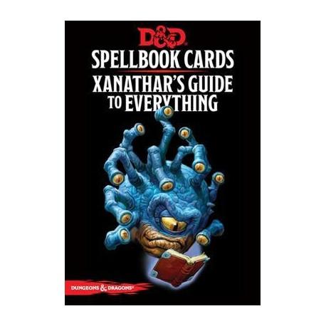 Xanathar's - Spell Deck Cards