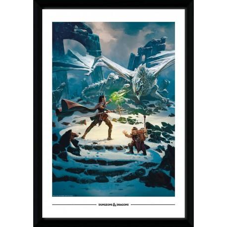 Collector Print - Dragon of Icespire Peak 50x70cm