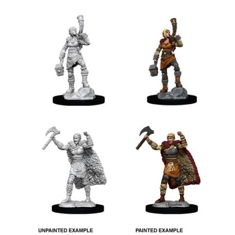 D&D Nolzur´s Miniatures Female Human Barbarian